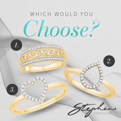 Do you love gold? Which of these yellow gold rings do you like? Come in store or shop these styles online at http://www.stephensjewellers.com.au/brand/stephens?category=&stone_type=&metal_type=&search_query=&gender=&promotion= #Stephensjewellers #Jewellery #Gold #Rings #Aquamarine http://www.stephensjewellers.com.au/