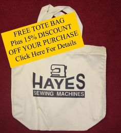 Get a FREE TOTE BAG, Plus 15% DISCOUNT OFF YOUR PURCHASE.  Click on picture for more details.