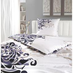 Atmungsaktive Bettwäsche mit stilvollen Ornamenten: einfach chic!
