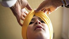 Scenes from Canada's largest turban-tying competition