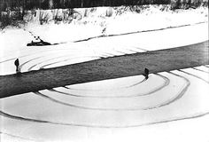 Dennis Oppenheim, Annual rings, 1968. Beth Scupham