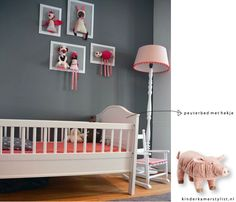 Kinderkamer lisa on pinterest met toddler girl rooms for Muurdecoratie babykamer