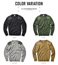 【楽天市場】新品 米軍TYPE コマンドセーター 4色 定番のコマンドセーターで 米軍使用の物を復刻したセーター チクチク感のない着心地が良いセーターです ニット セーター コマンドセーター mss WIP 新生活:ミリタリーセレクトショップWIP