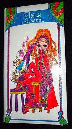 Vintage 1970's Holiday Fair Flower Child Photo Album - Japan | Flickr - Photo Sharing!