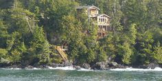 Reef Point Oceanfront B&B. A luxurious, 5 star, Ucluelet B&B with hot tub, fireplace and front row seats for West Coast storm watching. Pacific Rim, Pacific Ocean, Ucluelet Bc, B & B, West Coast, Places To Visit, Canada, Romantic, Luxury