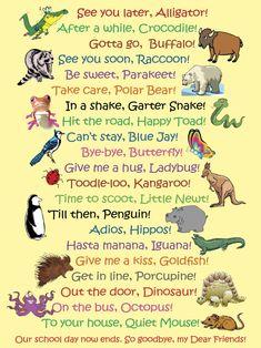 See You Later Alligator, Classroom Posters, Classroom Door, Bye Bye, In Kindergarten, Toddler Activities, Zoo Activities, Kids And Parenting, Foster Parenting
