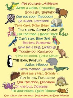 See You Later Alligator, Classroom Posters, Classroom Door, Bye Bye, In Kindergarten, Kids And Parenting, Foster Parenting, Parenting Goals, Parenting Articles