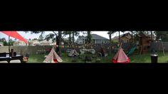 Tepee themed birthday party