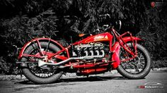 1930 Indian Four Motorcycle Wallpaper