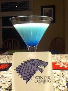 Game of Thrones cocktail recipes!  For the viewing party... Next year... When the DVDs come out... :(