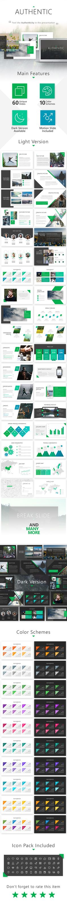 #Authentic #Presentation #Template - Business PowerPoint Templates