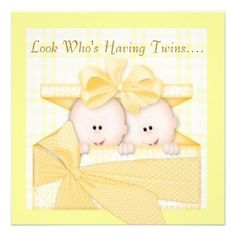 Twin Baby Shower Theme Ideas - Bing images