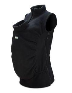 Peekaru Babywearing Fleeces - wear front or back, for men and women. Great spring/fall gear.