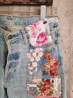 M jeans. S jeans. Diy Jeans, Jeans Denim, Ripped Jeans, Jeans Refashion, Fall Jeans, Summer Jeans, Casual Jeans, Vintage Jeans, Jean Vintage