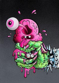 Artist Bluff Monster