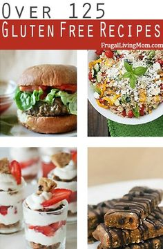 Looking for Gluten Free Recipes?  Come check out over 125 Breakfast, Lunch, Dinner and Snack #glutenfree dishes!