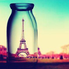 Paris in a jar