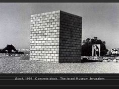 Black form dedicated to the missing jews sol lewitt for Minimal art slideshare