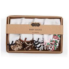 Leopard Sock Set | Baby | Mud Pie