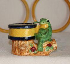 A cute little MIJ frog planter.