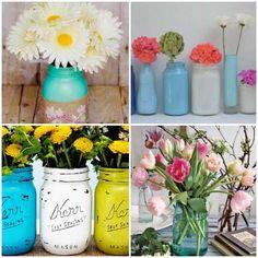 Arranjo Floral para Dia das Mães - Como Plantar e Cuidar Flower Pots, Flowers, Decoration, Glass Jars, Container Gardening, Reuse, Perennials, Crafts For Kids, Recycling