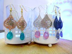 Boho chic earrings ,drop earrings ,faceted earrings,bohemian earrings ,delicate earrings ,dainty earrings ,gypsy earrings,bohemian jewelry door HipLikeMe op Etsy https://www.etsy.com/nl/listing/258242632/boho-chic-earrings-drop-earrings-faceted