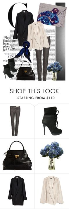 """Blue-tiful"" by polybot ❤ liked on Polyvore featuring AllSaints, Giuseppe Zanotti, Marc Jacobs, Chalayan, By Malene Birger and Jaeger"