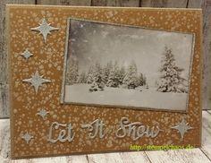 #weihnachten #kulricke #stempelchaos #stempeln #winter #letitsnow #glitzer #Christmas