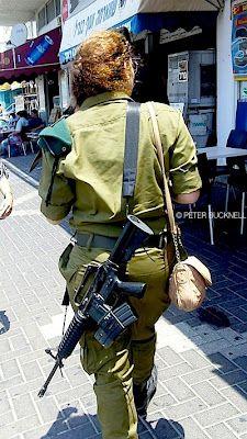 Israeli army shopping