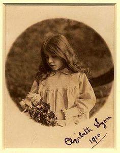 Lady Elizabeth Bowes Lyon, mother of Queen Elizabeth II 1910