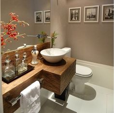 Browse modern bathroom ideas images to bathroom remodel, bathroom tile ideas, bathroom vanity, bathroom inspiration for your bathrooms ideas and bathroom design Read Bathroom Interior, Modern Bathroom, Small Bathroom, Wc Decoration, Decorations, Douche Design, Laundry Room Cabinets, Laundry Rooms, Laundry Area