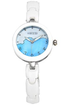 Kezzi Women's Watches K1159 Fashion Luxury Quartz Analog Blue Dial Ceramic Bracelet Silver Wrist Watch Kezzi http://www.amazon.com/dp/B012BZVN9I/ref=cm_sw_r_pi_dp_qLkSvb0N73JSG