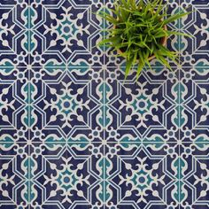 This beautiful Antalya tile stencil is inspired by the ever popular cement tiles. Use this design to stencil a kitchen backsplash or to create a stenciled floor. Stenciling over existing tiles is a great money saving DIY painting project. Stencil Patterns, Stencil Designs, Tile Patterns, Antalya, Large Stencils, Tile Stencils, Damask Stencil, Moroccan Stencil, Tile Edge