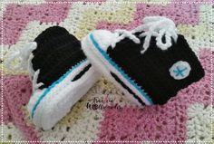 Babyturnschuh * Baby * shoes * gehäkelt * crochet *  https:// www.facebook.com / fraeuleinwollwunder