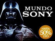 Mundo SONY ¡hasta 50% de descuento! www.mequedouno.com.mx