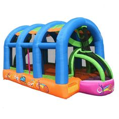 Arc Arena II Sport Bounce House - Shop at YardKid.com #bouncehouse #inflatable