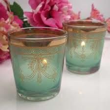 Aqua and pink wedding theme + moroccan candle holders