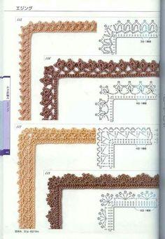 Crochet edges <3