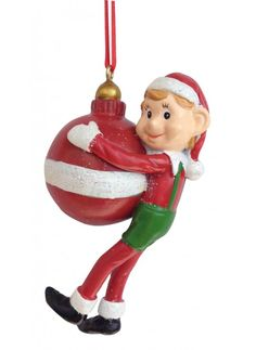 Pixie Holding Ball Ornament Ball Ornaments, Christmas Ornaments, Elf On The Shelf, Pixie, Holiday Decor, Collection, Home Decor, Decoration Home, Room Decor