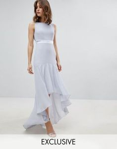 TFNC WEDDING Maxi Dress With High Low Hem