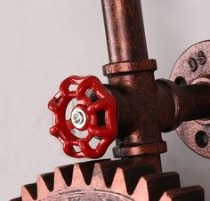 Loft estilo Industrial criativo de madeira do Vintage parede de cabeceira lâmpada de Edison antigo arandela
