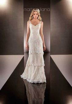Martina Liana 597 Wedding Dress photo