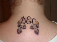 Loving-Memory-Memorial-RIP-Tattoos. Of course it would have different initials and dates