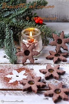 Biscotti al cacao e arancia | Formine e Mattarello