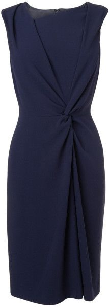 L.k.bennett Adela Dress in Blue (Navy)