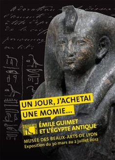 Idée sortie pour ce week-end, la toute nouvelle exposition au Musée des Beaux-Arts sur Emile Guimet