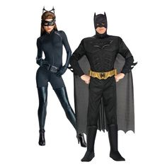 Batman and Catwoman Couple Costumes,Group Halloween Costumes, Couples Halloween Costumes and Family Halloween Costumes