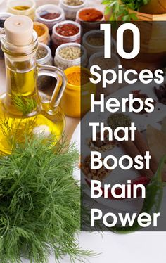 Top 10 Spices & Herbs That Boost Brain Power