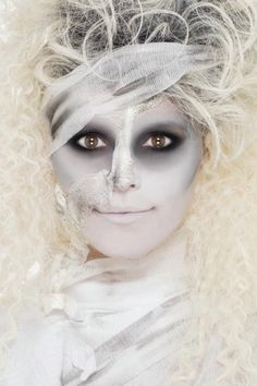 #mummy makeup                                                       …