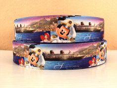 Walt Disney World and Disney Cruise Mickey Mouse Ribbon 5 Yard Pack on Etsy, $8.00